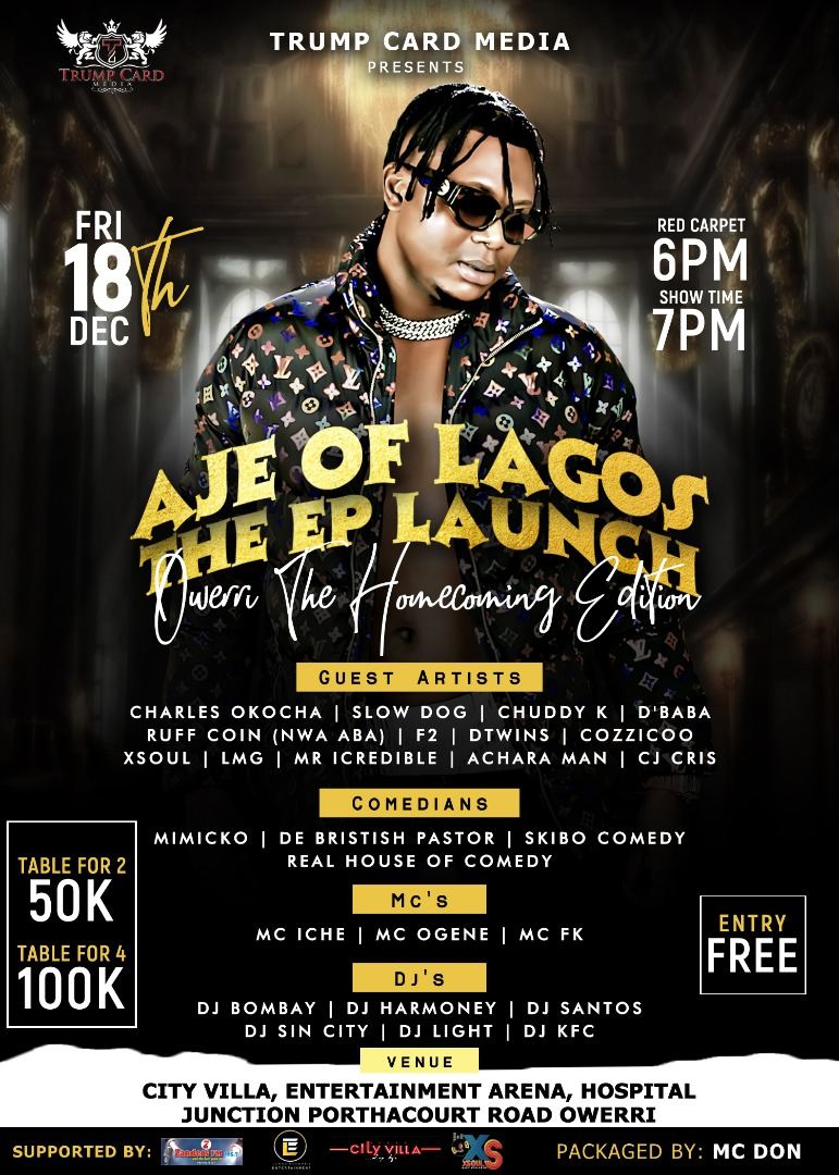 Aje of Lagos EP launch